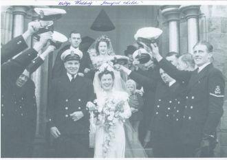Walter Arthur Henry Dawson wedding
