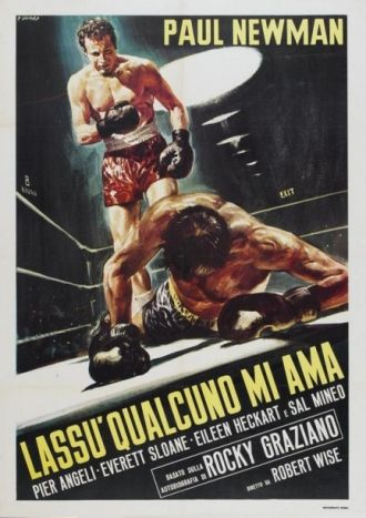 Rocky Graziano's movie poster