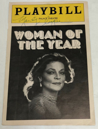 WOMAN OF THE YEAR.