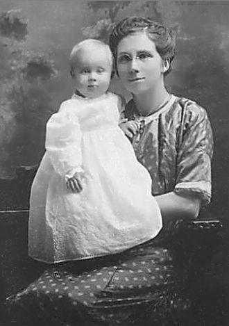 Ida Mae & Elwin Cadwell 1911