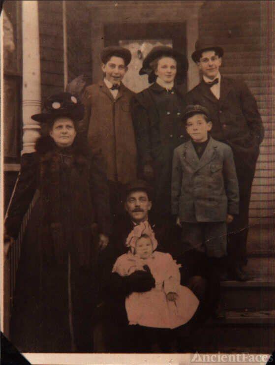 Walter Harriman Johnson Family