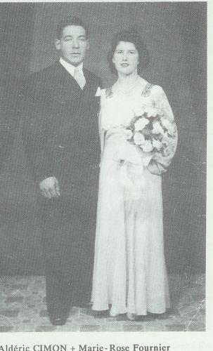Alderic Cimon & Marie-Rose Fournier