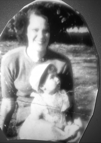 Gloria Mae (Paulson) Knight (1926-1994) with her daughter, Linda Mae Knight (1948-2004)