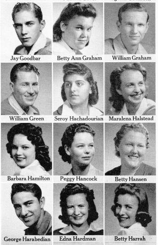 Jay Goodbar, 1942 Seniors from Fresno