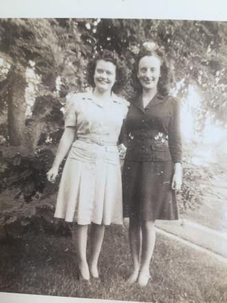 Shirley Severson and Elinor Dobbelmann
