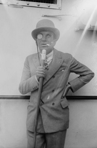 A photo of Al Jolson
