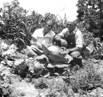 Annie Hixon Sloan and Orno Sloan