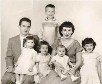 Harry Jerome Berberich family
