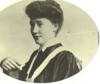 Anne Connolly O'Bryan, in Domestic uniform