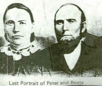 Peter Hansen and Beata Gustafva Borjesson