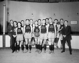 Tech High basketball team