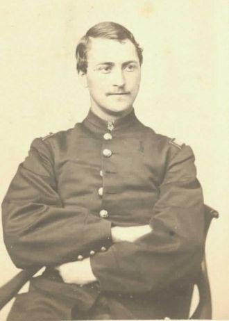 Capt. S. Monroe, Civil War 1864