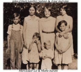 Etta Ethel (Smith) Ingram and Kids