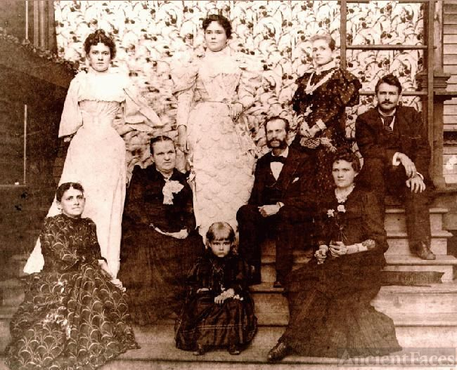Ida and Charles T. Stuart Family