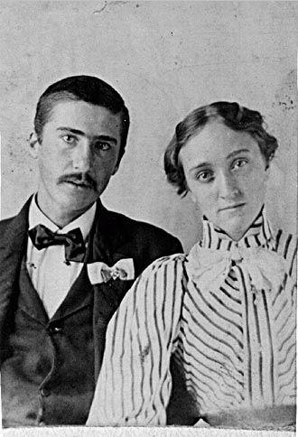 George & Cordia Hartin wedding