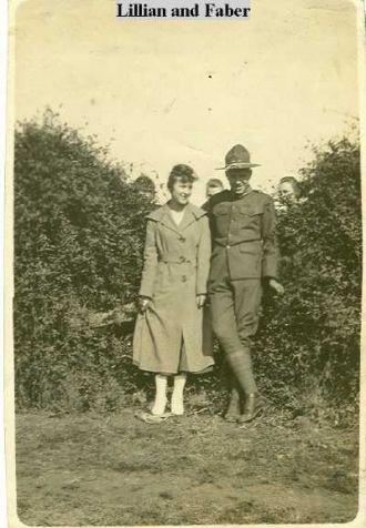 Faber Franklin Spires Sr. and Lillian Reynolds