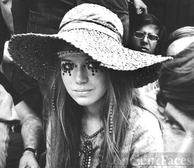 Hippie Girl - 1960's