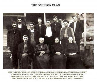 Snelson family, Ozarks