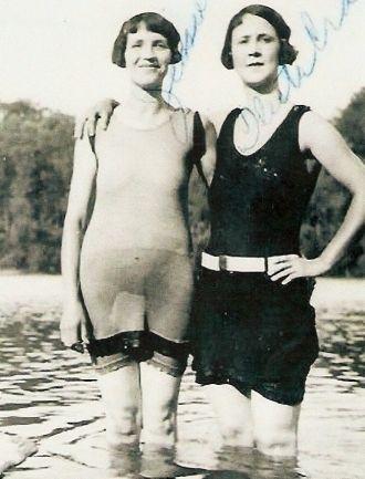 Jessie Reed and Fleeta Kiger