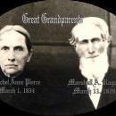 Marshall and Rachael Ragan, 1890