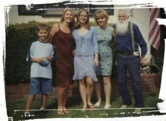 Winfield Albert Fricke family