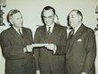 Louis Blumberg, Monroe Goldwater, Albert Goldman