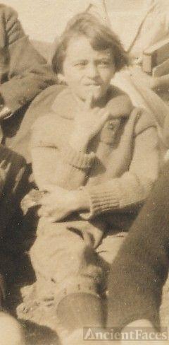 Lula Johnson, young girl