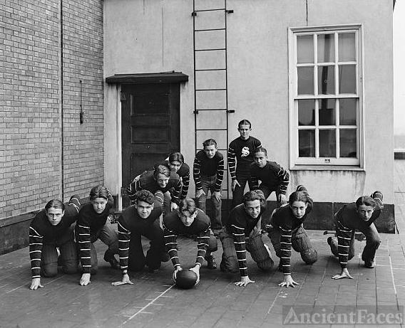 C&P Telephone Company Football
