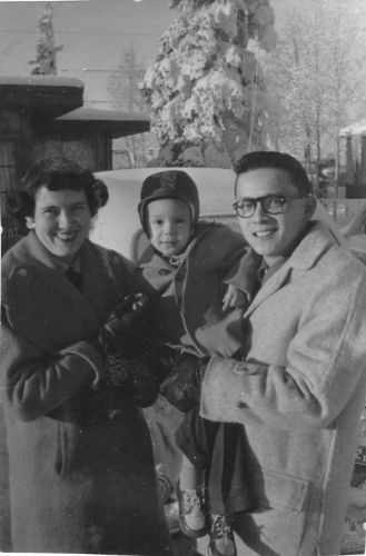 George, Catherine, & Rick Asinc, 1955