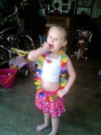 Rana J. (Mcgrew) Sanders child
