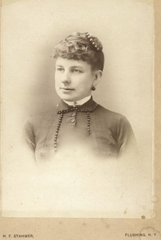 Unknown lady, New York