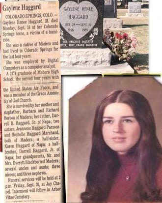 Gaylene R. (Haggard) Callaghan Memorial