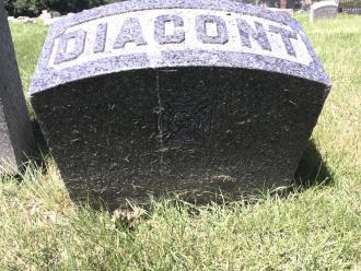 Frank James Diacont Gravesite