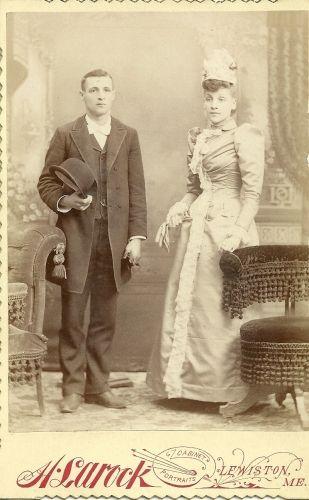 Flora Paradis and Joseph Thomas Bouchard