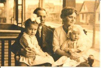 Margaret Estelle (Remore) Bowker family