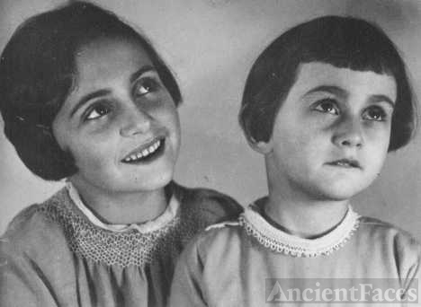 Anne and Margot Frank