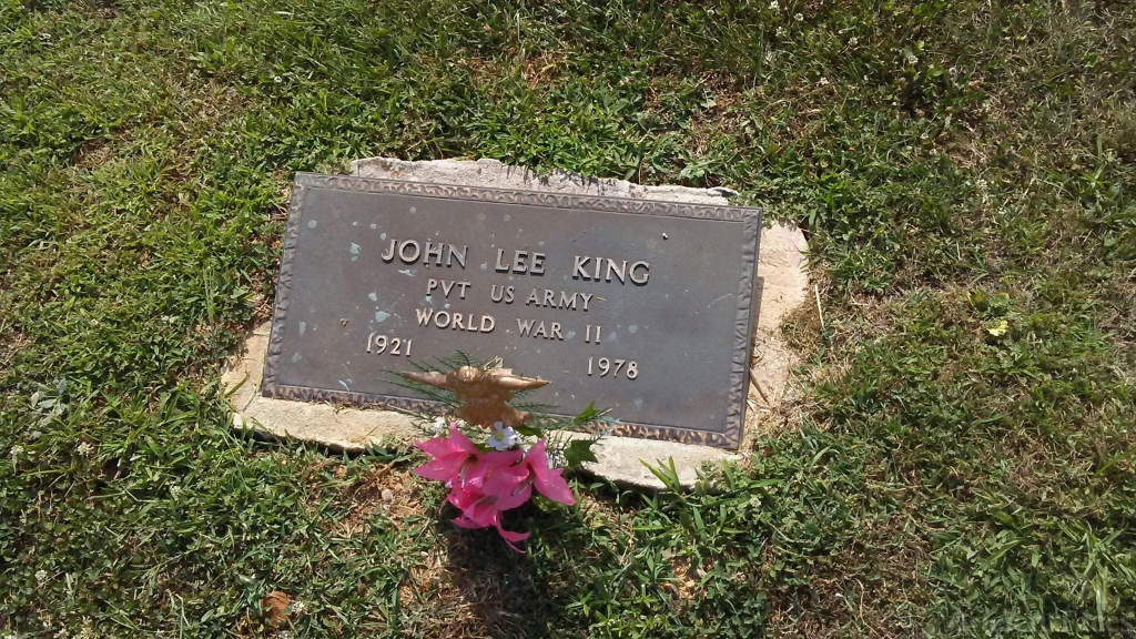 My grandfather John Lee King