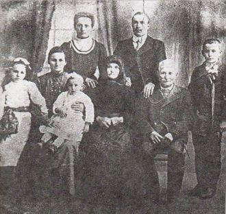 Rosa (Galgoczi) Fejes' Family from Hungary