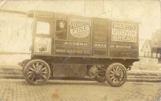 Ward Bakery Truck 1918