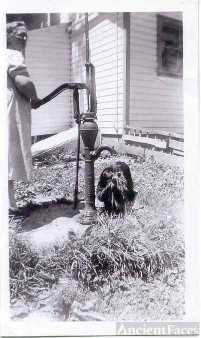 Nellie Mae Sorn Carpenter and Smokey