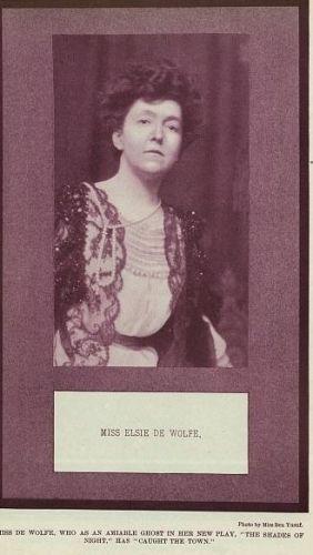Miss Elsie de Wolfe