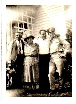 Walter, Rose, and Emery (son) Galgocczi 1944