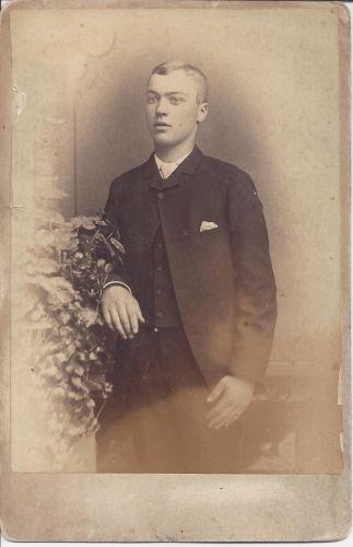 A photo of Alex B. McDonald