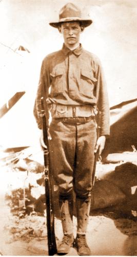 Roy E Bailey WWI