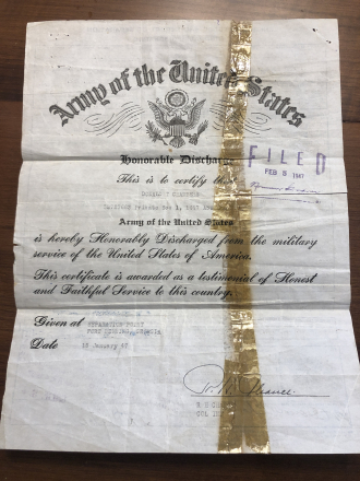 US Army Discharge