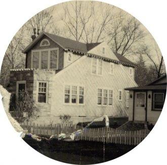 David & Vera Llewellyn Homestead, PA 1945