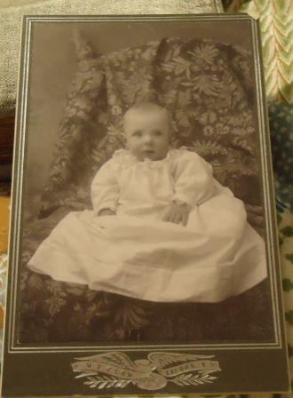 W.F. Clow baby photo