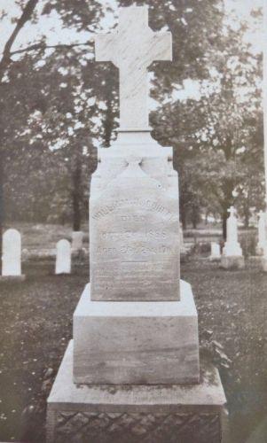William J. Bohrer/Borer grave marker, Ohio