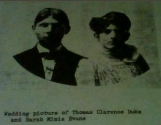 Thomas & Sara (Evans) Duke