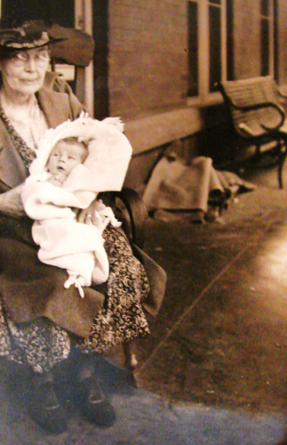 Grandma with Infant
